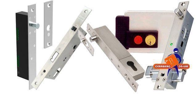 Cerraduras electromecánicas y electropistones en Cerrajero Online