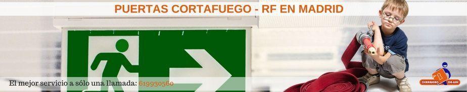 Puertas cortafuego en Madrid