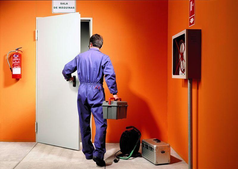 Instalación de puertas RF en Madrid