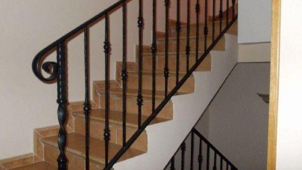 Barandillas estructuras metal cristal inox cerrajero online - Precio escaleras interiores ...