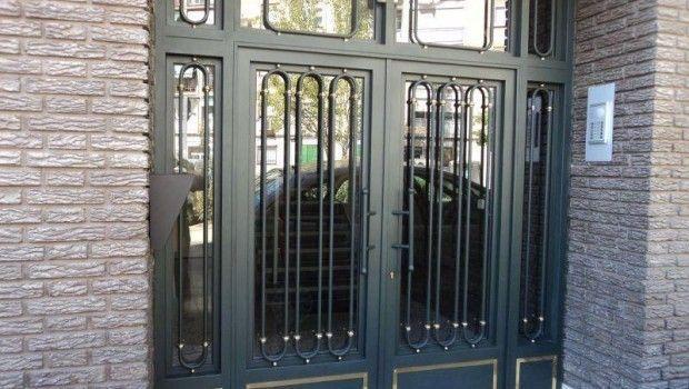 Puertas de hierro en Madrid