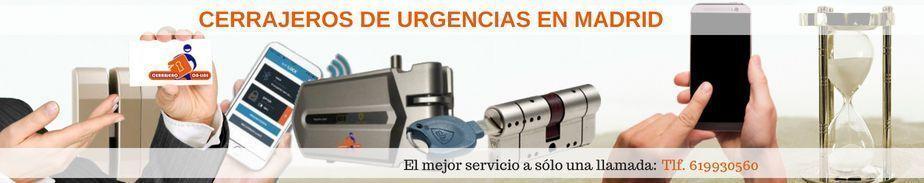 Los mejores cerrajeros en Madrid urgentes