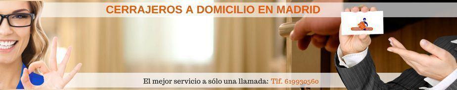 cerrajero a domicilio en Madrid